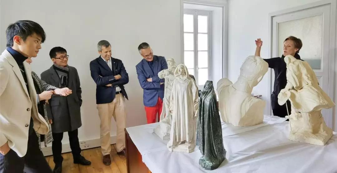 刘开渠法国恩师朴舍雕塑原作即将首次来华,在长沙李自健美术馆展出!